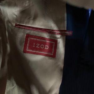 Izod Suits & Blazers - IZod Macy's-Blue Pinstriped Blazer size 38 Regular